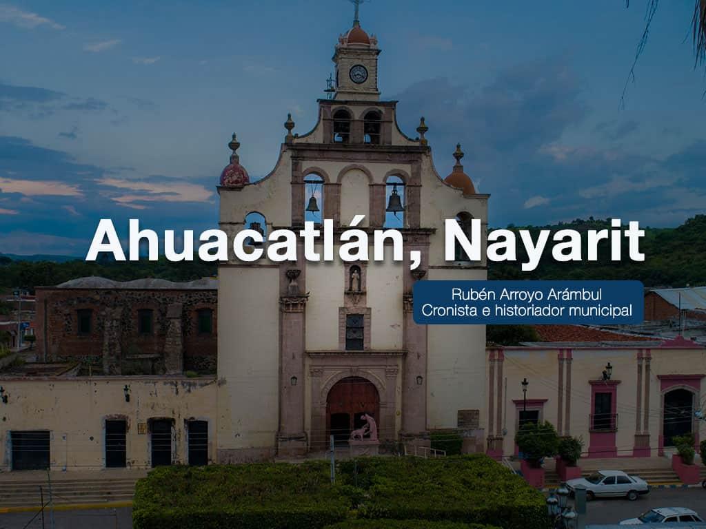 Fotografía De la Iglesia de Ahuacatlan, Nayarit