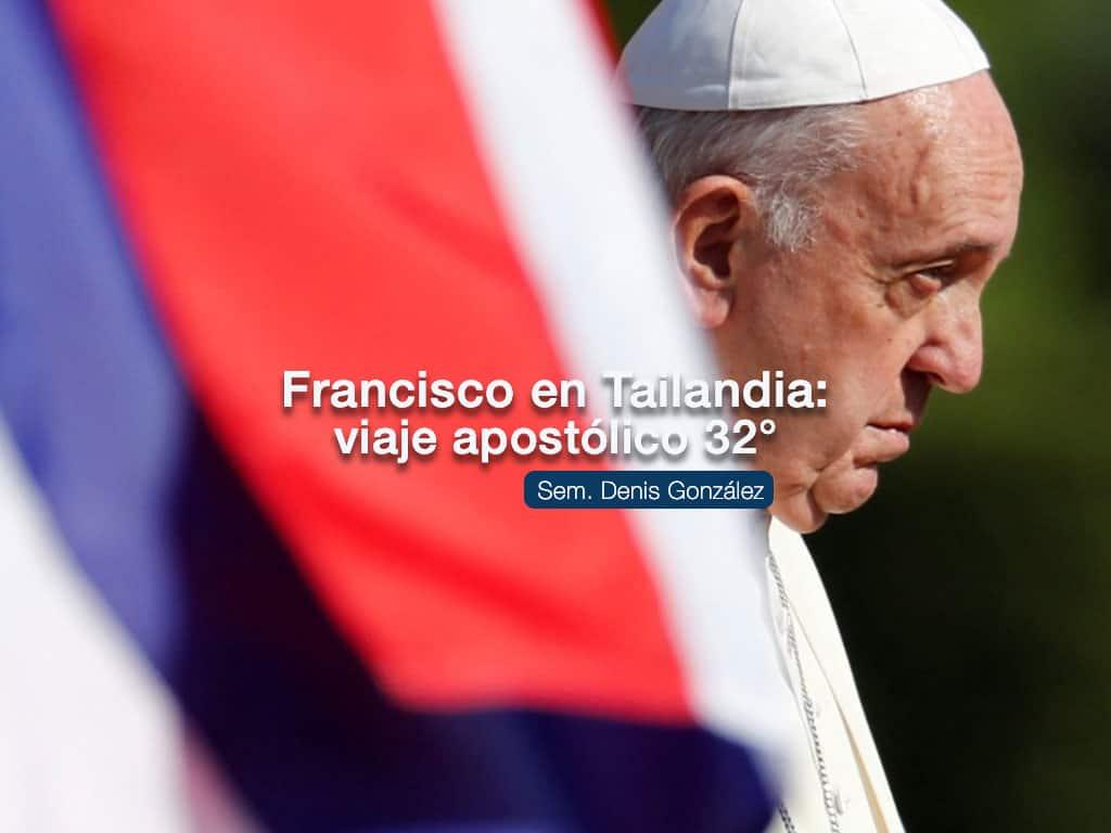 portada de articulo Papa Francisco en Tailandia