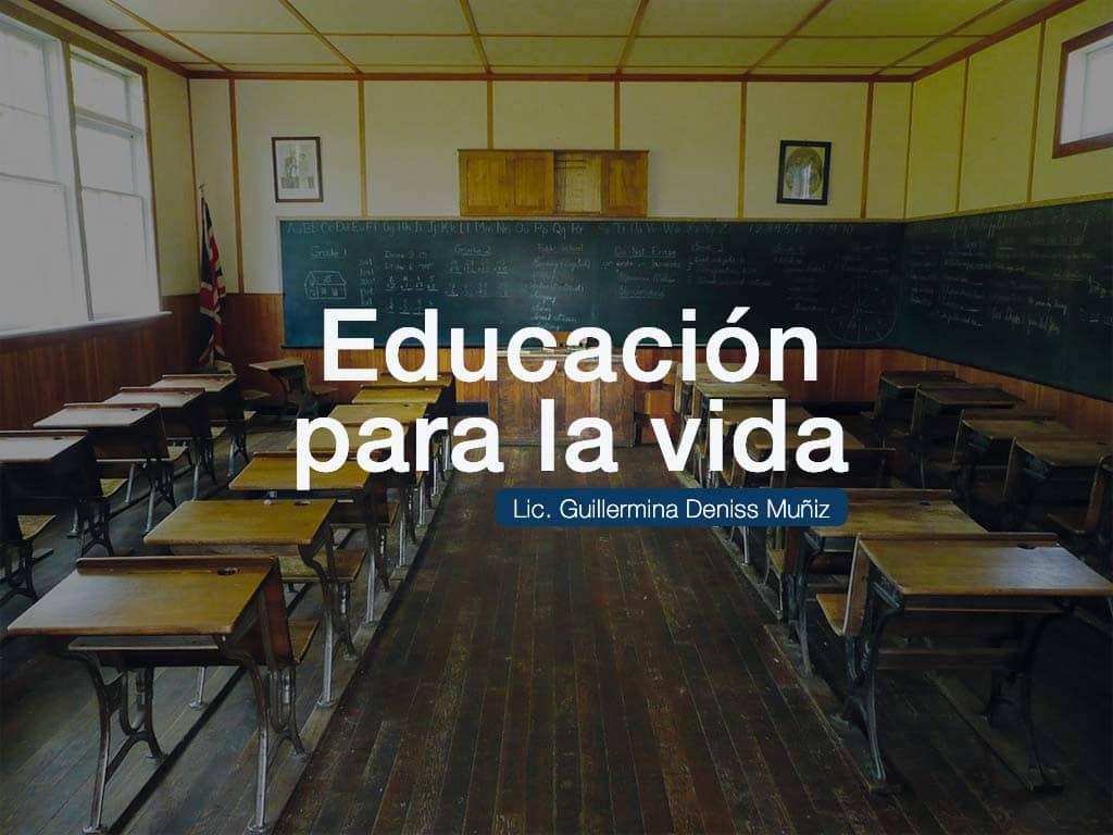 portada para el artículo Educación Para La Vida