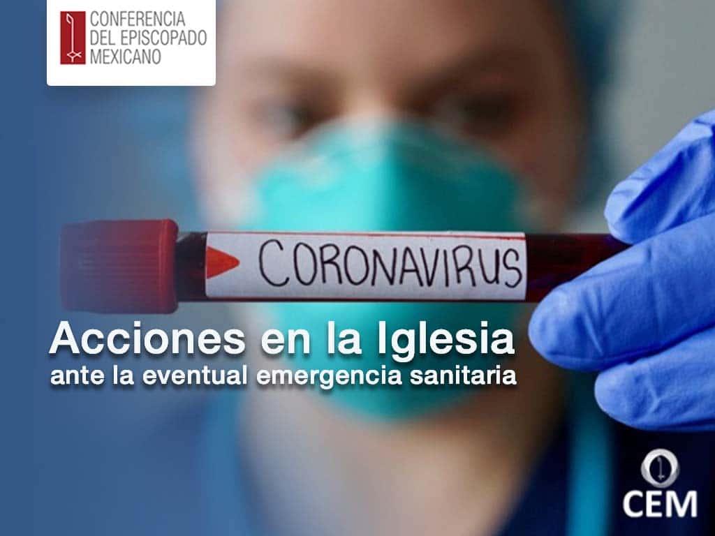 portada para ingresar al mensaje de la CEM sobre las medidas De la Iglesia por el Coronavirus