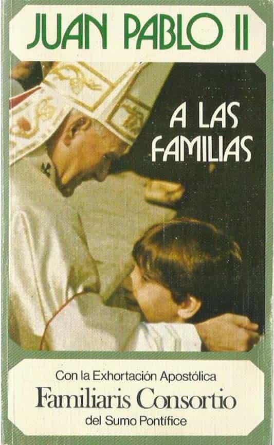 imagen de la Exhortación Apostólica a las familias