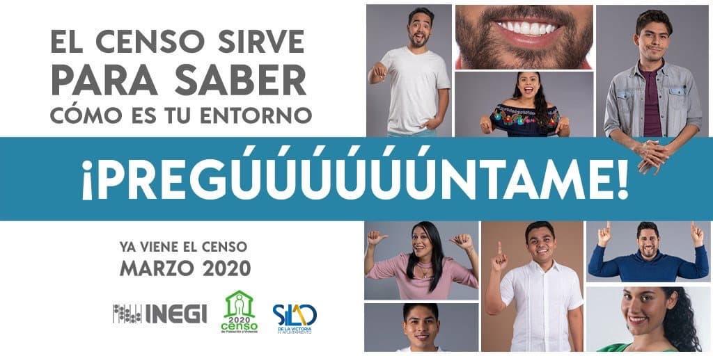 imagen promocional de gobierno sobre el CENSO 2020
